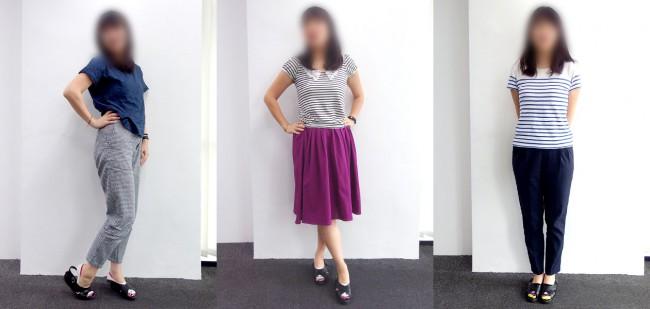 マレーシアのオフィスカジュアル② 30代女性(内勤)のコーディネート例