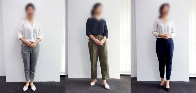 マレーシアのオフィスカジュアル① 20代女性(営業)のコーディネート例