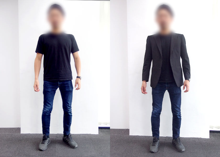 マレーシアのオフィスカジュアル③ 30代男性(マーケティング)のコーディネート例